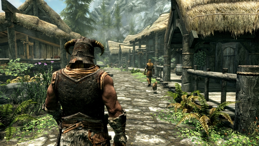 Skyrim Special Edition features updated visuals for current consoles. (Image by Bethesda Softworks)