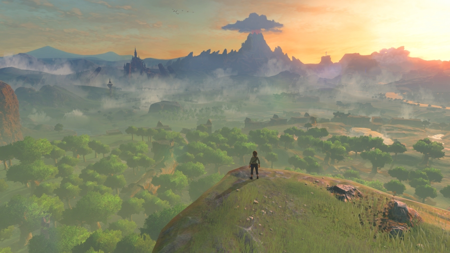 Breath of the Wild will feature a big world for Link to explore. (Image by Nintendo)