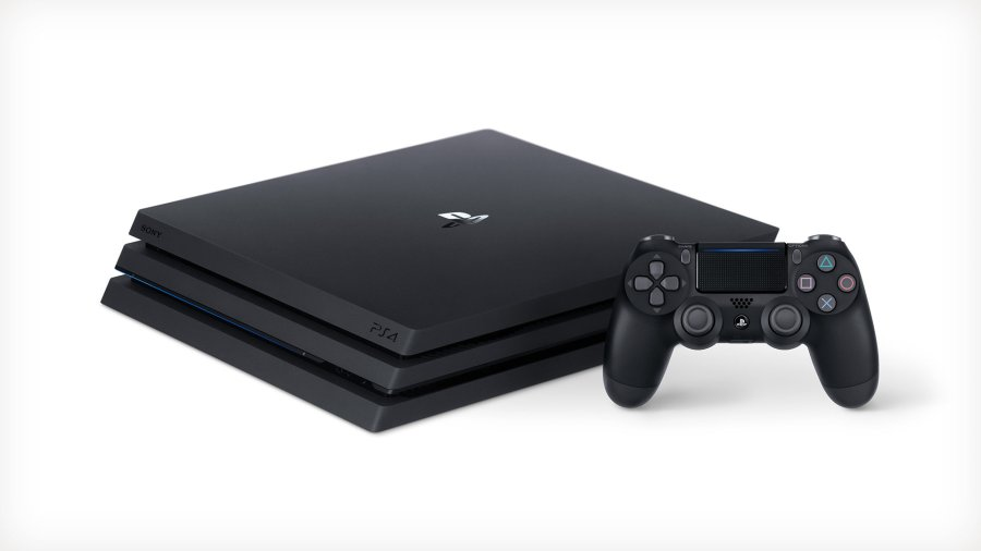 The design of the new PS4 Pro console. (Image by Sony Interactive Entertainment)